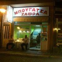 Photo taken at Ζαφράς by Βαγγέλης Κ. on 7/13/2013