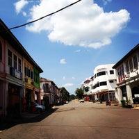 Photo taken at Kampung Baru Mengkarak by Nazri N. on 2/21/2014