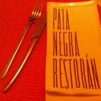 Foto tomada en Patanegra Restorán por Faus A. el 12/7/2012