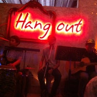 Photo taken at Hang Out by Jipra N. on 9/5/2014