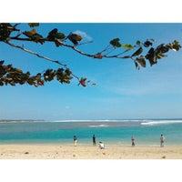 Photo taken at Pantai Ujung Genteng by Muhamad S. on 8/25/2013
