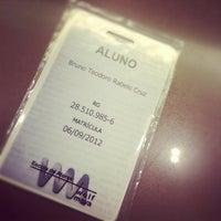 Photo taken at Escola de Atores Wolf Maya by Bruno T. on 10/17/2012