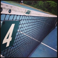 Photo taken at Over the Tracks Tennis Courts by Douglas B. on 8/5/2014