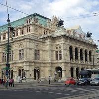 Photo taken at Vienna State Opera by Kawika W. on 4/28/2013