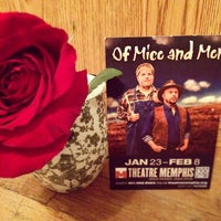 Photo taken at Theatre Memphis by Cyd T. on 1/23/2015