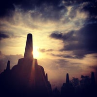 Photo taken at Borobudur Temple by Kirsten A. on 10/10/2012