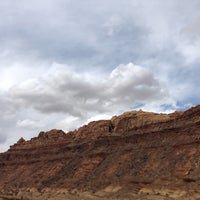 Photo taken at Black Dragon Canyon View Area by Kirsten A. on 5/1/2018