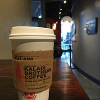 Photo taken at Kaladi Brothers Coffee by Kirsten A. on 9/19/2016