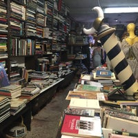 Photo taken at Libreria Acqua Alta by Kirsten A. on 8/14/2015