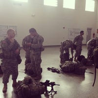 Photo taken at Florida Army National Guard Armory by Eddie D. on 3/8/2013