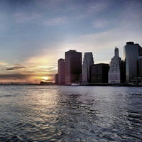 Photo taken at Brooklyn Bridge Park by Victor D. on 3/5/2013