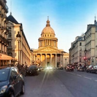 Photo taken at Panthéon by Victor D. on 4/14/2013