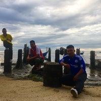 Photo taken at Teluk Tempoyak by FJ on 1/1/2017