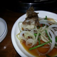 Photo taken at 본고향맛집 by Kevin (Sang Ho) Y. on 10/26/2012