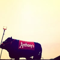 Photo taken at Anthony's Steakhouse by Heather M. on 4/5/2013