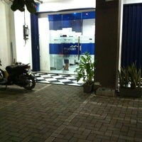 Photo taken at ATM Mandiri Tembalang by Ryan S. on 1/28/2013