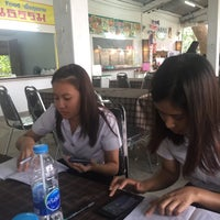 Photo taken at ศูนย์อาหารมานา (MN) Manna Food Center by Popspl on 9/5/2016