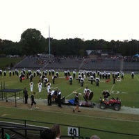 Photo taken at Bear stadium by Johnny B. on 9/29/2012