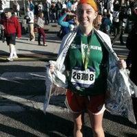 Photo taken at Medtronic TC 10 Mile Finish Line by Katie Jo K. on 10/6/2013