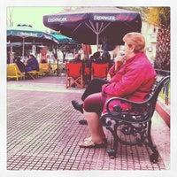 Photo taken at Mavili Square by Rania P. on 3/20/2013