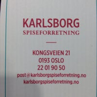 Photo taken at Karlsborg Spiseforretning by Timo A. on 8/10/2014