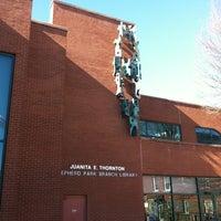 Photo taken at DC Public Library - Juanita E. Thornton/Shepherd Park by Peter M. on 1/19/2013