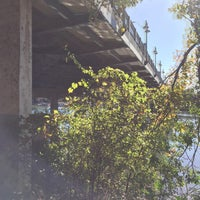 Photo taken at Lady Bird Lake Under S First St Bridge by Will F. on 11/19/2015