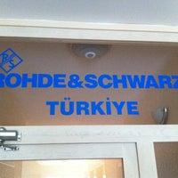 Photo taken at Rohde & Schwarz by Alper D. on 12/28/2012
