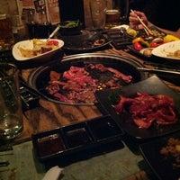 Photo taken at Gyu-Kaku Japanese BBQ by Jarrod D. on 10/9/2012
