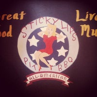 Photo taken at Sticky Lips BBQ Juke Joint by Todd L. on 3/16/2013