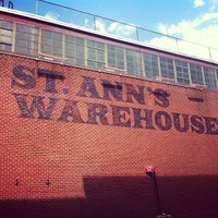Photo taken at St. Ann's Warehouse by Todd L. on 3/29/2013