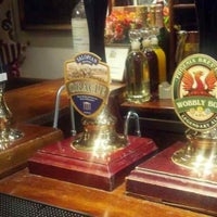 Photo taken at The Greyhound Coaching Inn and Hotel by Sandy U. on 6/3/2013