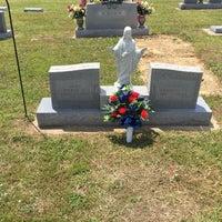 Photo taken at Ridgeway Cemetery by Richard B. on 5/28/2017