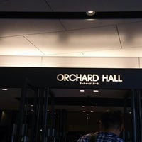 Photo taken at Orchard Hall by Maki S. on 7/27/2013