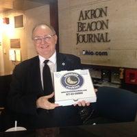 Photo taken at Akron Beacon Journal by Susan K. on 1/23/2014
