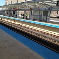 Photo taken at CTA - Belmont (Red/Brown/Purple) by Tony R. on 5/14/2013