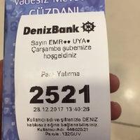 Photo taken at DenizBank by Emrah 7. on 12/28/2017