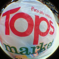 Photo taken at Tops Market by พิริยะ ซ้าย ขวา ซ้าย 🚶🏻🚶🏻🚶🏻 on 6/8/2013