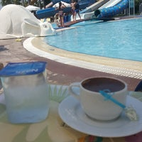 Photo taken at Turan Prince Aquapark by Merve K. on 8/23/2018