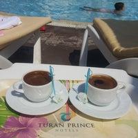 Photo taken at Turan Prince Aquapark by Merve K. on 8/21/2018