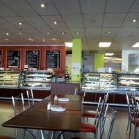 Photo taken at Mr Bun Cafe by Christine H. on 4/11/2013