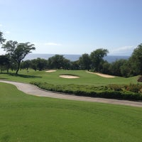 Photo taken at Wailea Golf Club by Mike P. on 3/14/2013