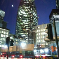 Photo taken at 63 St Mary Axe by Paul W. on 1/5/2017