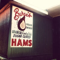 Photo taken at Burge's Hickory Smoked Turkeys And Hams by meghugs on 3/3/2013