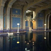 Photo taken at Hearst Castle Roman Pool by Hsiao-Wei C. on 2/20/2017