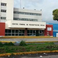 Photo taken at Reclusorio Femenino Tepepan by Roberto T. on 7/21/2013