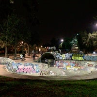 Photo taken at Skatepark Parque O'Higgins by Francisco A. on 5/15/2016