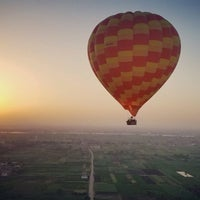 Photo taken at Luxor Balloon by Miguel B. on 9/23/2016