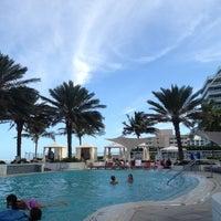 Photo taken at Hilton Fort Lauderdale Beach Resort by Ryan G. on 4/19/2013