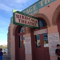Photo taken at The Original Bird Cage Theatre Of Tombstone by Jay H. on 10/7/2012